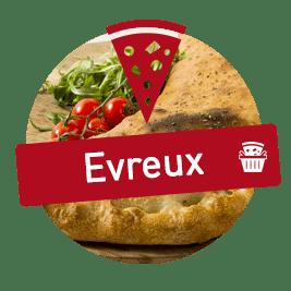 livraison pizza evreux